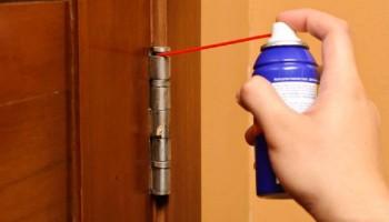 Как устранить скрип двери своими руками?
