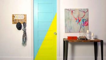 Крашеные двери: причины популярности