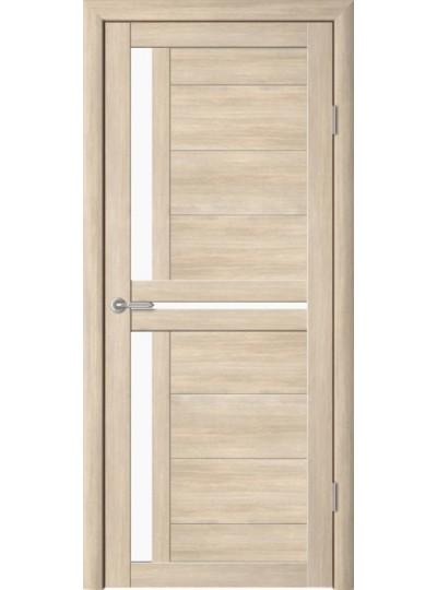 Дверь Кёльн, Лиственница мокко, светлое стекло