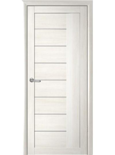 Дверь Марсель, Кипарис белый, светлое стекло