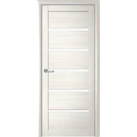 Дверь Вена, Кипарис белый, светлое стекло