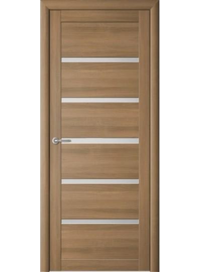 Дверь Вена, Кипарис янтарный, светлое стекло