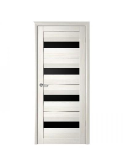 Дверь Барселона, Кипарис белый, темное стекло