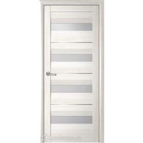 Дверь Барселона, Кипарис белый, светлое стекло