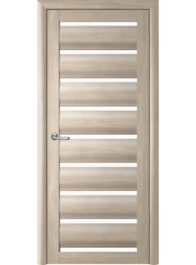 Дверь Сидней, Лиственница мокко, светлое стекло