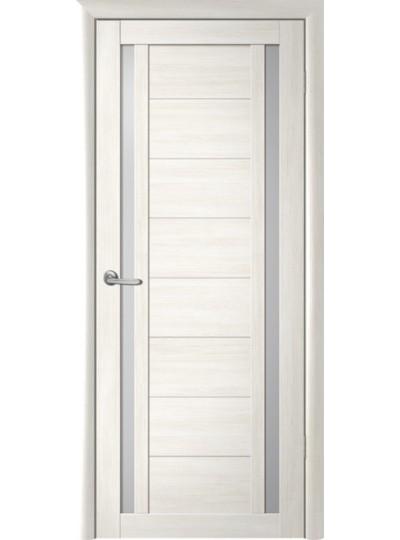 Дверь Рига, Кипарис белый, светлое стекло