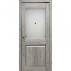 Дверь Гринвуд ПО Дуэт, серый