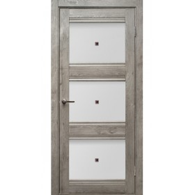 Дверь Гринвуд ПО Трио, серый