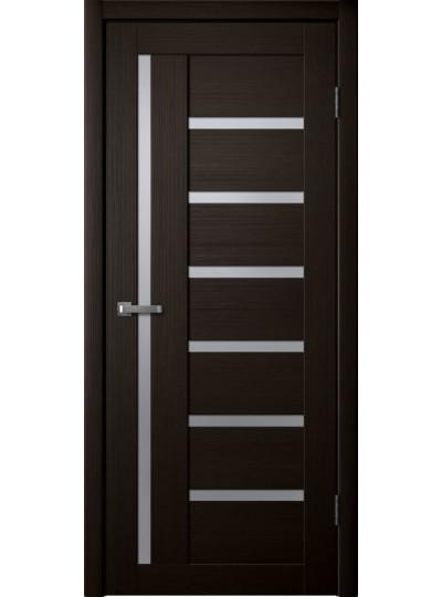 Дверь Fly doors L17 Венге, белое стекло