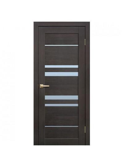 Дверь Fly doors L14 Венге, белое стекло