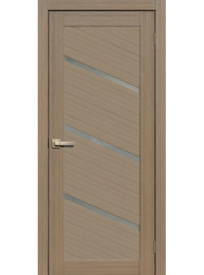 Дверь Fly doors L05 Тик, белое стекло