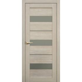 Дверь Fly doors L20 Ясень, белое стекло