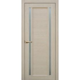 Дверь Fly doors L23 Ясень, белое стекло