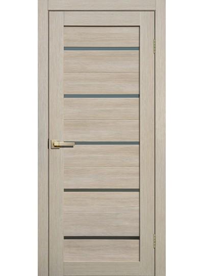 Дверь Fly doors L26 Ясень, белое стекло