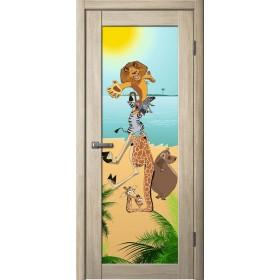 Дверь La Stella 212, Ясень латте Мадагаскар