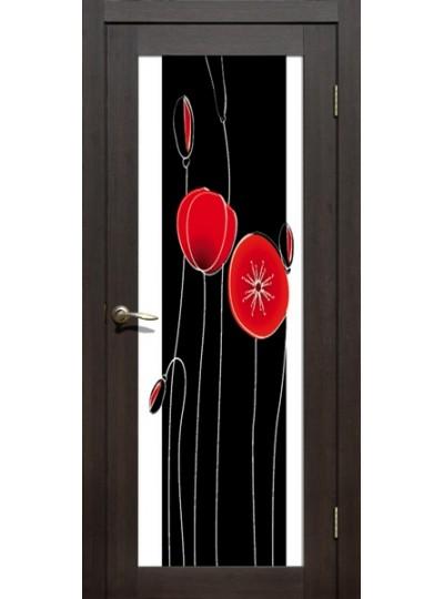 Дверь La Stella 212, Дуб мокко, Маки