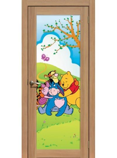 Дверь La Stella 212, Дуб сантьяго, Винни Пух