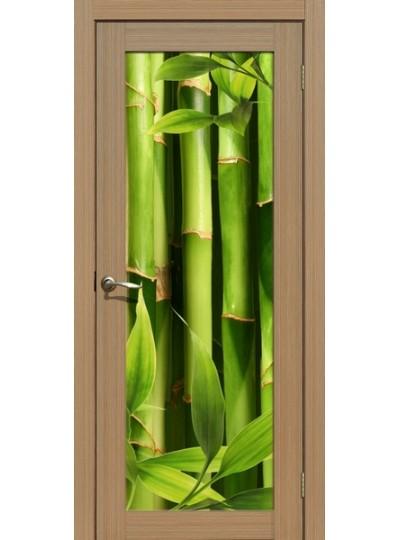 Дверь La Stella 212, Тиковое дерево, Бамбук