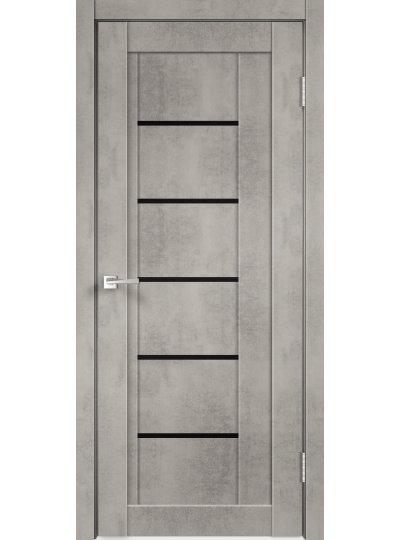NEXT 3 Муар Светло- серый Бетон, ст.Чёрное
