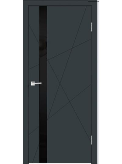 веллдорис SCANDI 3V Эмаль темно-серая, цветная ст. черное ЗАКАЗ
