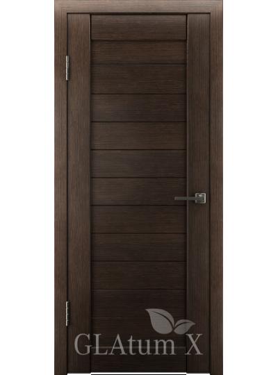Дверь Green Line Atum Х6, ПГ Венге