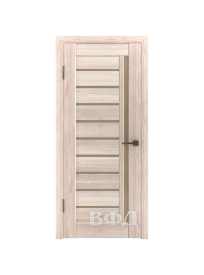 Дверь LINE 11 Л11ПГ1, Капучино, стекло бронза