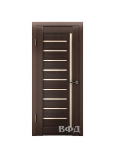 Дверь LINE 11 Л11ПГ4, Венге, стекло бронза
