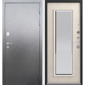 Центурион LUX-1 Зеркало Серебро/Патина крем. Сталь 2мм