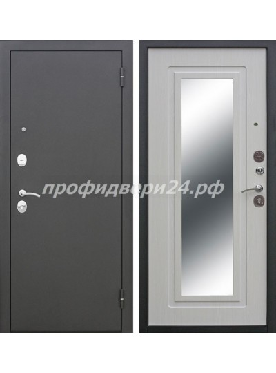 Ferroni Царское Зеркало Черный муар/Белый ясень