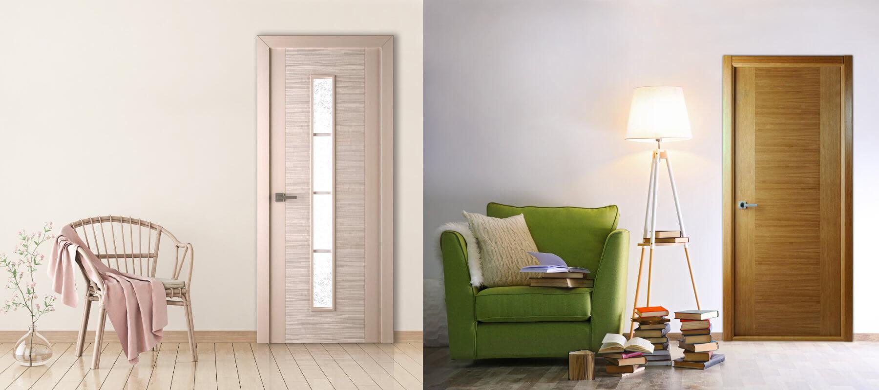 Внутрикомнатные двери в интерьере